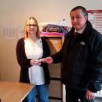 Our latest winner of £100 cash is Mrs Ali Payne