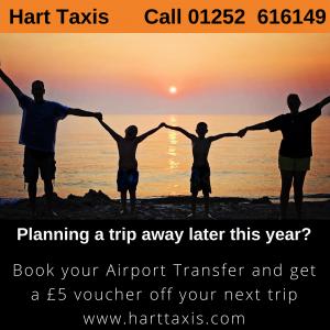 Hart Taxis Airport Voucher