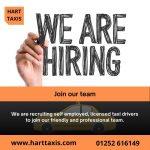 Hart Taxis vacancies